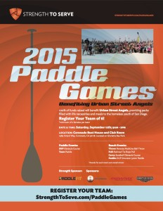 2015 Paddle Games benefiting Urban Street Angels @ Coronado Club Room and Boat House | Coronado | California | United States